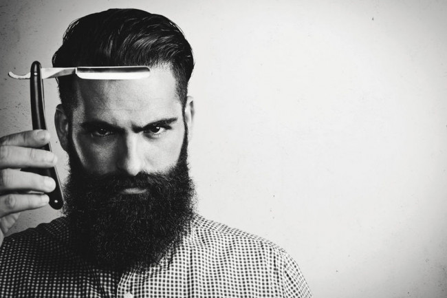 Taille barbe